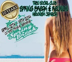 Tabu Social Club Spring Break Reunion at Desire Resort and Spa Riviera Maya